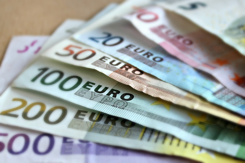 Euros - The cost of travelling across Europe can add up if left uncontrolled.